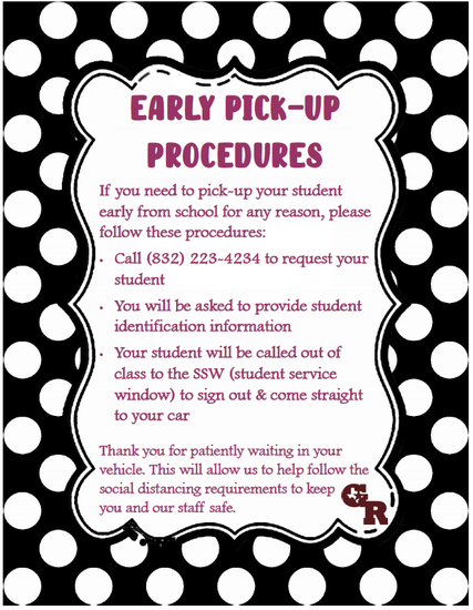 Early pickup procedures