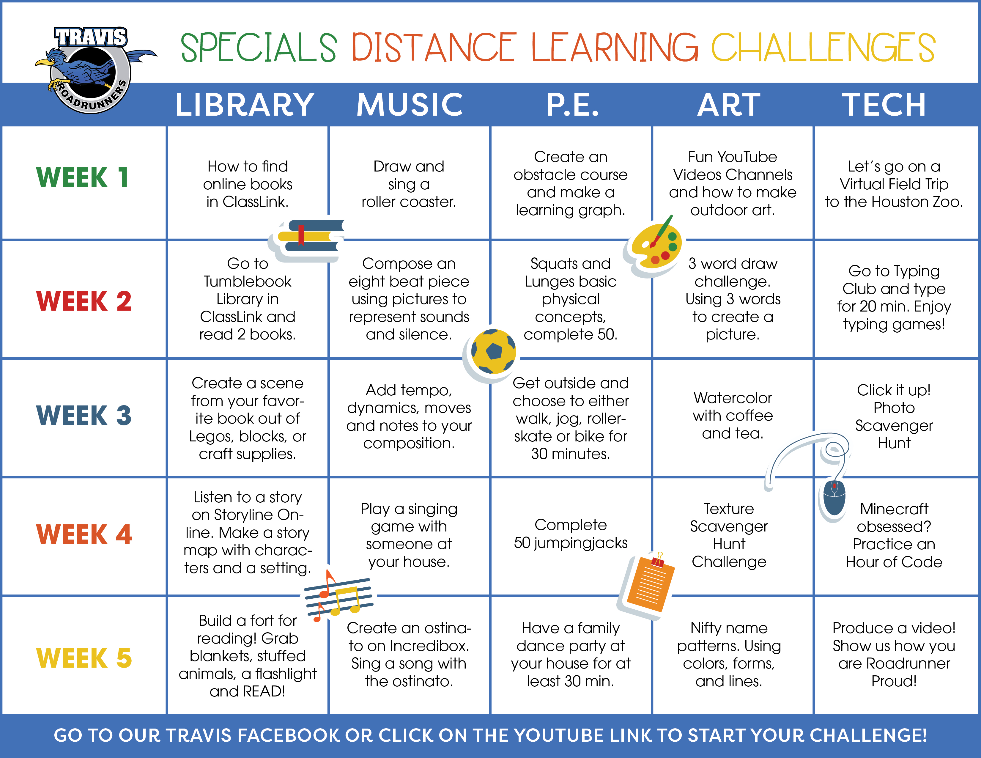 SPECIALS Distance Learning